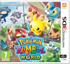 pokemon rumble world 3DS game