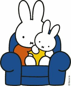 Miffy and her mom