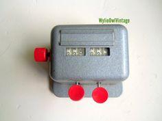 Vintage Clay Adams 2 Key Laboratory Counter by WylieOwlVintage, $28.00
