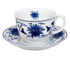 Xícara para chá com pires lazuli - 180ml | Westwing - Casa & Decoração