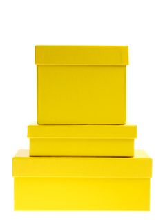 Color Amarillo - Yellow!!! Boxes