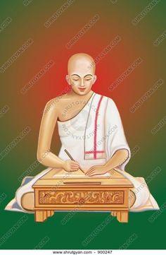 #paintings #jainism #spiritual #art #monk #sadhu