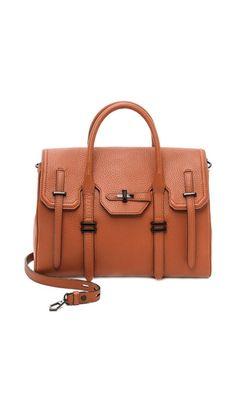rebecca minkoff handbag - great almond color