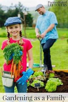 Tips for Gardening as a Family