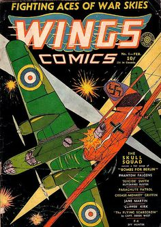 COMIC wings comics 6 #comic #cover #art