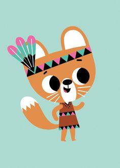 Tiago Americo poster squirrel 50x70 from http://www.kidsdinge.com   https://www.facebook.com/pages/kidsdingecom-Origineel-speelgoed-hebbedingen-voor-hippe-kids/160122710686387?sk=wall    http://instagram.com/kidsdinge #Toys #Speelgoed