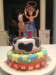 Toy Story birthday cake! Toy Story Birthday Cake, Toy Story Party, Birthday Cakes, 2nd Birthday, Birthday Ideas, Birthday Parties, Toy Story Cakes, 1st Birthdays, Disney Toys