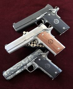 Coonan .357 Magnum Automatic, various finishes.