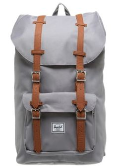 Herschel LITTLE AMERICA - Rucksack - grijs/bruin for with free delivery at Zalando Source by baileycust Mochila Herschel, Herschel Backpack, Backpack Purse, Laptop Backpack, America Outfit, College Bags, Cute Backpacks, Bradley Mountain, School Bags
