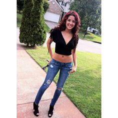 #TBT to when I had red hair, to when my hips were pierced, to when I was a size 1, to when I had NO chest, to when I was in chingo blings music video  ahhh 17 year old Renee