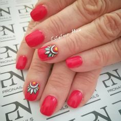 140+ Classic Red Nail Art Designs 2018 (1)
