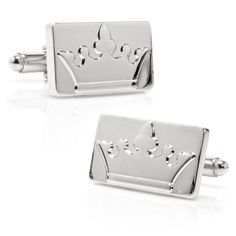 Silver Crown Cufflinks - Ox And Bull Trading Co by Cufflinksman Anniversary Quotes For Parents, Wedding Anniversary Gifts, Gentleman, Designer Cufflinks, Personalized Gifts For Mom, Types Of Guys, Mason Jar Gifts, I Love Mom, Parent Gifts
