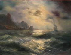 "Alexei Rychkov ""The passing of the harbor"" 2013."