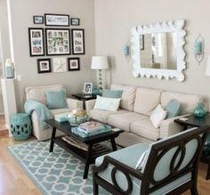 Easy Breezy Living in an Aqua Blue Cottage   Pinterest   Aqua ...