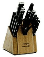 Calphalon Simply Cutlery is a good wedding registry idea because it is not expensive and is an essential for your kitchen. Knife Block Set, Knife Sets, Best Wedding Registry, Best Pocket Knife, Cold Steel, Chef Knife, Cutlery Set