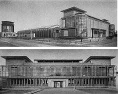 Deutscher Werkbund (German Association of Craftsmen) exhibition of 1914, Cologne   Walter Gropius and Adolf Meyer