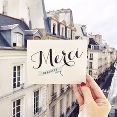 """""""Merci Beaucoup Paris. Nearly time to leave for London """""""