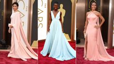 Pretty pastels, white tuxedos and more Oscars red carpet trends