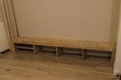 Creatieve Tijd: TV-meubel van steigerhout
