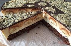 Bananenkuchen mit köstlicher Quark-Creme
