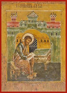 St. Luke the Evangelist Russian Orthodox icon