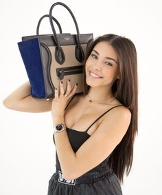Makeup Wipes, Makeup Pouch, Youtube Sensation, Madison Beer, Celine Bag, Beauty Products, Fashion Beauty, Pop, Stars