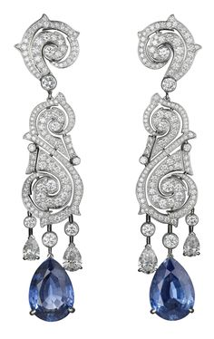 Cartier...diamonds and sapphires...oh yeah!!