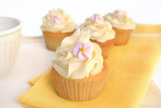 Cupcakes al limone
