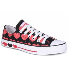 Tenis Feminino Converse All Star Print Argyle Ox Pto/Vrm ❤ liked on… Converse All Star, Converse Chuck Taylor, Star Print, High Top Sneakers, Kicks, Shoe Bag, My Style, Clothes, Accessories