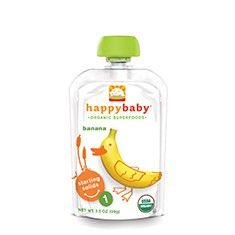 Happy Baby Pouches | Organic Fruit or Vegetable Purees for Baby