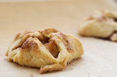 Bite-size deliciousness: apple pie bundles.