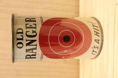 AMERICAN VINTAGE EMPTY FLAT TOP OLD RANGER PREMIUM BEER CAN 12OZ Auctions Online | Proxibid