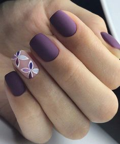 Cute Nail Art Designs for Short Nails 2019 - Nageldesign - Nagels Cute Nail Art Designs, Short Nail Designs, Acrylic Nail Designs, Acrylic Nails, Nail Design For Short Nails, Nail Polish Designs, Lilac Nails Design, Gel Manicure Designs, Short Nail Manicure