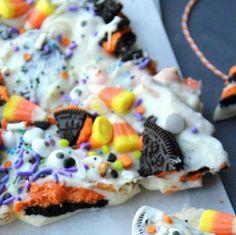 Halloween Bark - Fun Halloween Food for Kids - Famiy Fresh Meals-