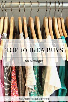 Top 10 IKEA Buys on a budget