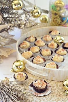 A tasty way to say cheers to the holidays with these simple but elegant eggnog truffles in a chocolate cup. Chocolate Cups, Melting Chocolate, Baking Secrets, Truffle Recipe, First Bite, Candy Melts, Yummy Cookies, Truffles, Tasty