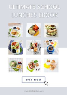 Over a hundred ideas for bento boxes, thermos lunches, soups, salads, power bowls, and more! These recipes are kid-approved, made with fresh ingredients, and easy to assemble in the lunchbox. Box Lunches, Lunch Box, Bento Box, School Lunch, Soups, Easy, Salads, Recipes, Kid