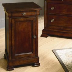 Fresh Nightstand with Cabinet Door