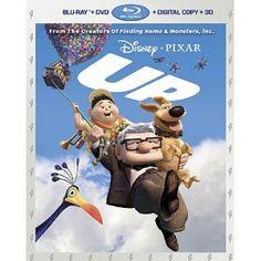 Up (Five-Disc Combo: Blu-ray 3D/ Blu-ray/ DVD + Digital Copy) (Walt Disney Home Entertainment)