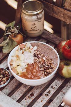 Healthy Breakfast Muffins, Breakfast Bowls, Low Carb Recipes, Vegan Recipes, Vegan Food, Porridge Low Carb, Fat Burning Foods, Winter Food, Diet And Nutrition