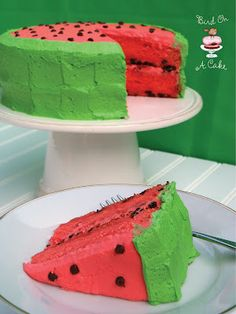 Watermelon Flavored Cake - Just Imagine - Daily Dose of Creativity