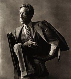 Irving Penn - Jean Cocteau (1 of 3) , Paris, 1948 Platinum-palladium print © Condé Nast