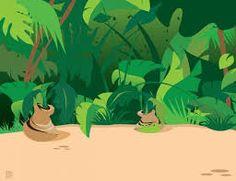 Resultado de imagen de imagenes infantiles de la selva
