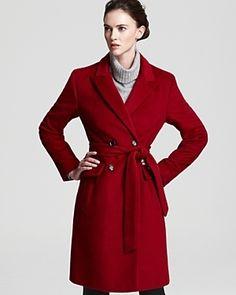 Calvin Klein Wrap Coat with Notch...       $148.92