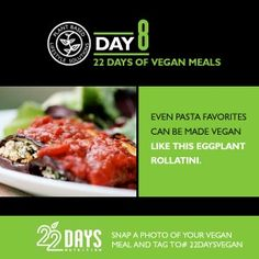 Day 8: 22 Days of Vegan Meals