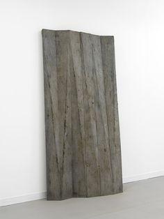 Michael Dean |  cope (working title) 2011 Concrete 154 x 12 x 5 cm / 60.6 x 4.7 x 2 in