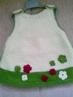 Ulusoydantelden Bebek Örgüleri Ve Patikl Tissues - Diy Crafts Crochet Baby Cardigan, Knitting Machine Patterns, Baby Cardigan Knitting Pattern, Knit Baby Dress, Knit Baby Sweaters, Knitted Baby Clothes, Knit Crochet, Crochet Patterns, Knitting For Kids