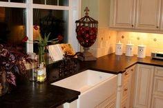 Brushed Brown Antique Granite Countertops