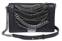 Chanel bag, $5,100, 800-550-0005.