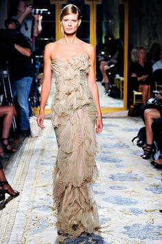 Marchesa, nude gown, wedding dress